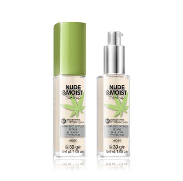 Bell Hypoallergenic Nude & Moist Podkład do twarzy nawilżająco-odżywczy nr 01 30 g