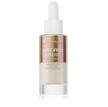 BELL Hypoallergenic – Podkład Just Free Skin  01 Light (30 ml)