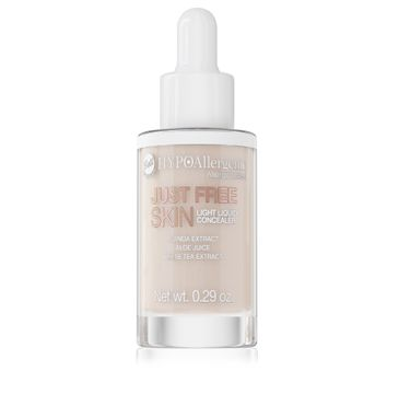 Bell – Hypoallergenic Podkład Just Free Skin Light Liquid Concealer 02 Fresh (1 szt.)
