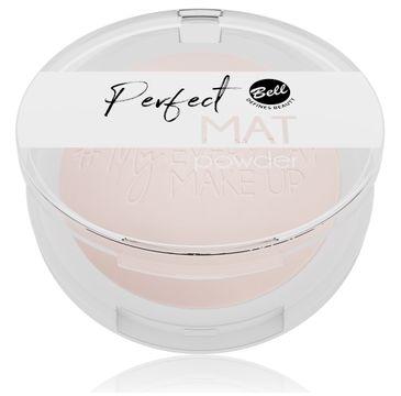 Bell – #My Everyday Make-Up Puder w kamieniu matujący Perfect Mat nr 01 Neutral Light (9 g)