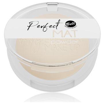 Bell – #My Everyday Make-Up Puder w kamieniu matujący Perfect Mat nr 02 Vanilla Soft (9 g)