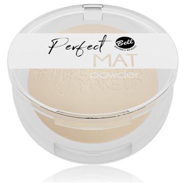 Bell – My Everyday Make-Up Puder w kamieniu matujący Perfect Mat nr 04 Desert Sand (9 g)