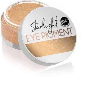 Bell Starlight Eye Pigment - Sypki cień do powiek nr 02 Golden