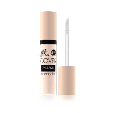 Bell Ultra Cover Eye & Skin - Korektor intensywnie kryjący w płynie nr 01 Light Ivory 5 g