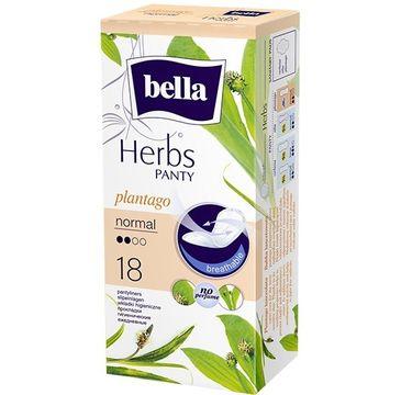 Bella Herbs Panty Wkładki higieniczne Plantago z Babką Lancetowatą - normal (1op. - 18 szt.)