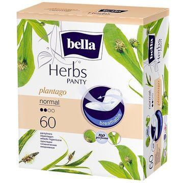 Bella Herbs Panty Wkładki higieniczne Plantago - z Babką Lancetowatą - normal (1op. - 60 szt.)