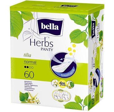 Bella Herbs Panty Wkładki higieniczne Tilia - z Kwiatem Lipy - normal (1op.- 60 szt.)
