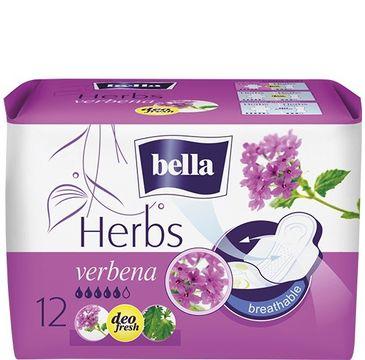 Bella Herbs Verbena Podpaski deo fresh z Werbeną (1op.- 12 szt.)