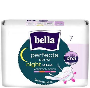 Bella Perfecta Night Podpaski ultra cienkie silky dry  (1op. - 7 szt.)