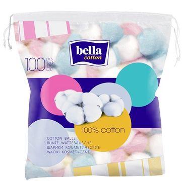 Bella Waciki kosmetyczne kolorowe - 100% cotton  (1op. - 100 szt.)