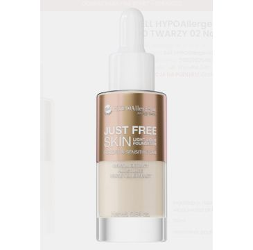 BELL Hypoallergenic – Podkład Just Free Skin  02 Natural (30 ml)