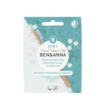 Ben&Anna Natural Toothpaste Tablets naturalne tabletki do mycia zębów bez fluoru (36 g)