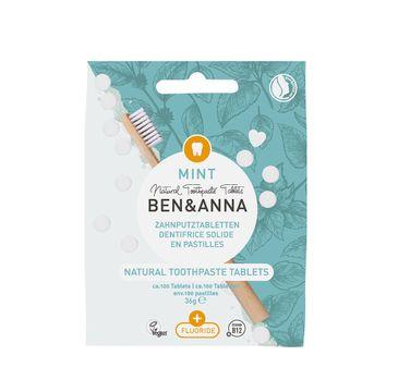 Ben&Anna Natural Toothpaste Tablets naturalne tabletki do mycia zębów z fluorem (36 g)