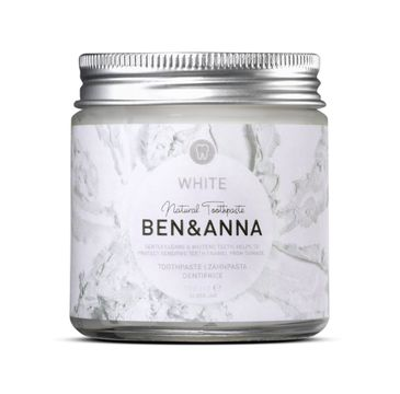 Ben&Anna Natural Toothpaste naturalna wybielająca pasta do zębów White 100ml