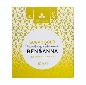 Ben&Anna Sugar Gold cukrowa pasta do depilacji 60g