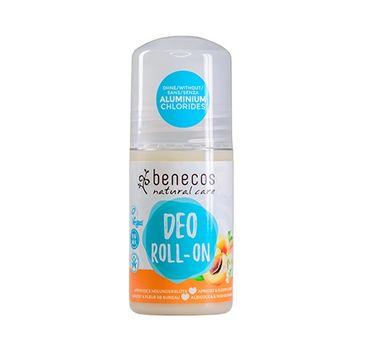 Benecos Deo Roll-On naturalny dezodorant w kulce Morela & Kwiat Czarnego Bzu (50 ml)