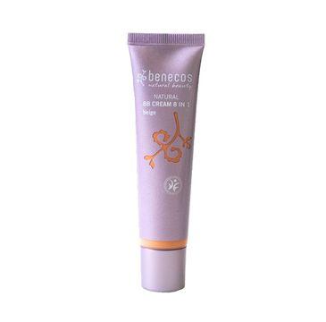 Benecos Natural BB Cream 8in1 naturalny krem BB Beige (30 ml)