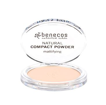 Benecos Natural Compact Powder naturalny puder w kompakcie Jasny (9 g)