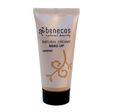 Benecos Natural Creamy Make-Up naturalny podkład w kremie Caramel (30 ml)