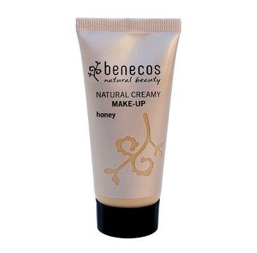 Benecos Natural Creamy Make-Up naturalny podkład w kremie Honey (30 ml)