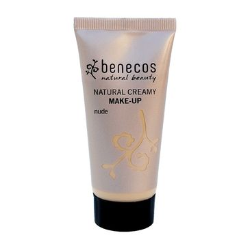 Benecos Natural Creamy Make-Up naturalny podkład w kremie Nude (30 ml)