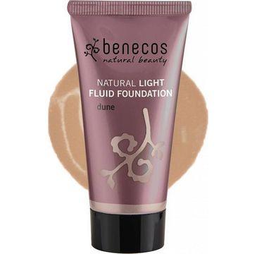 Benecos Natural Light Fluid Foundation naturalny lekki płynny podkład Dune (30 ml)