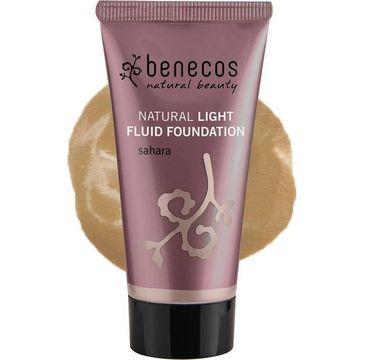 Benecos Natural Light Fluid Foundation naturalny lekki płynny podkład Sahara (30 ml)