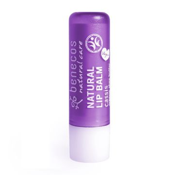 Benecos Natural Lip Balm naturalny balsam do ust Czarna Porzeczka (4.8 g)