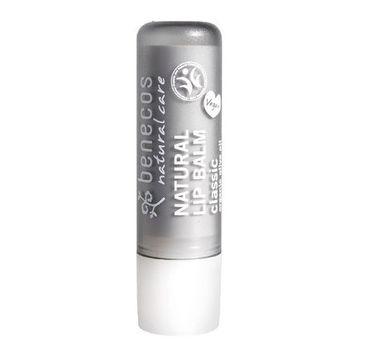 Benecos Natural Lip Balm naturalny balsam do ust Klasyczny (4.8 g)
