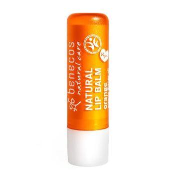 Benecos Natural Lip Balm naturalny balsam do ust Pomarańcza (4.8 g)