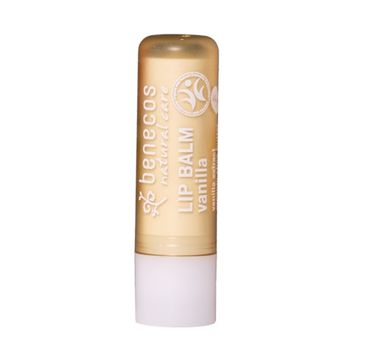 Benecos Natural Lip Balm naturalny balsam do ust Wanilia (4.8 g)
