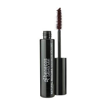 Benecos Natural – Mascara Maximum Volume tusz do rzęs zwiększający objętość Deep Black (8 ml)