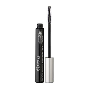 Benecos Natural – Mascara Super Long Lashes wydłużający tusz do rzęs Carbon Black (8 ml)
