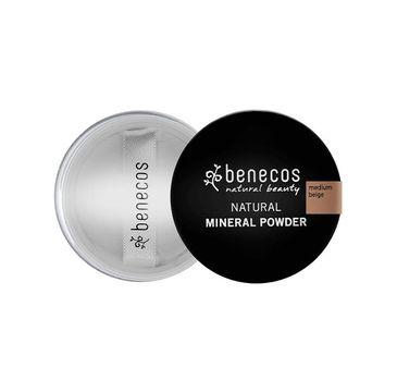 Benecos Natural Mineral Powder sypki puder mineralny Medium Beige (10 g)