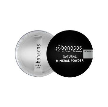 Benecos Natural Mineral Powder sypki puder mineralny Translucent (10 g)
