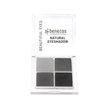 Benecos Natural Quattro Eyeshadow paletka 4 naturalnych cieni do powiek Smokey Eyes (8 g)