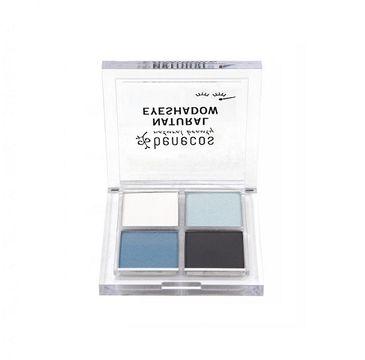 Benecos Natural Quattro Eyeshadow paletka 4 naturalnych cieni do powiek True Blue (8 g)