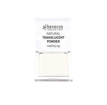 Benecos Natural – Translucent Mattifying Powder naturalny transparentny puder matujący Mission Invisible (6.5 g)