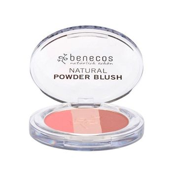 Benecos Natural Trio Blush naturalny potrójny róż do policzków Fall in Love (5 g)