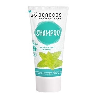 Benecos Shampoo naturalny szampon do włosów Pokrzywa & Melisa (200 ml)