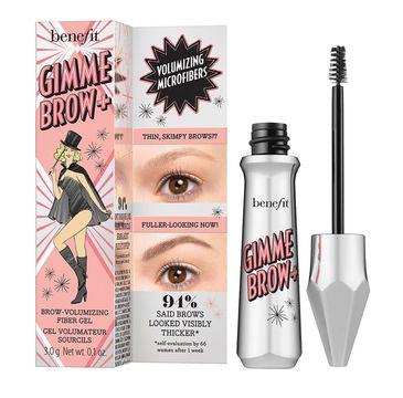 Benefit Cosmetics Gimme Brown Volumizing Microfibers Gel żel do brwi 01 Cool Light Blonde (3 g)