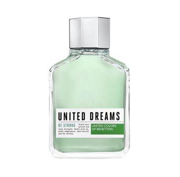 Benetton United Dreams Be Strong Men woda toaletowa spray (100 ml)