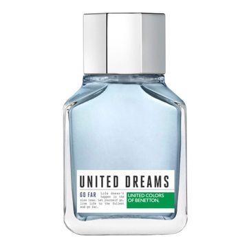 Benetton United Dreams Go Far Men woda toaletowa spray (100 ml)