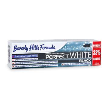 Beverly Hills Perfect White Black czarna pasta do zębów 100ml