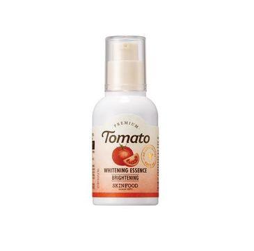 Skinfood Premium Tomato Whitening Essence – rozświetlająco-rozjaśniające serum do twarzy z witaminą C i pomidorem (50 ml)