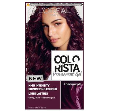 L'Oreal Paris Colorista Premament Gel – farba do włosów #darkpurple (1 szt.)