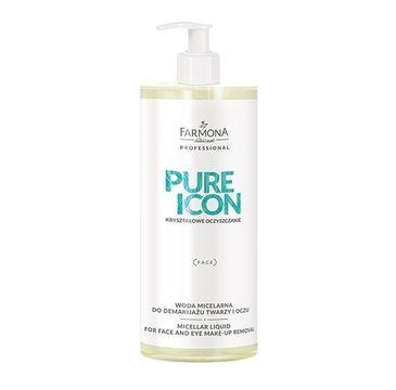 Farmona Professional – Pure Icon woda micelarna do demakijażu twarzy i oczu (500 ml)