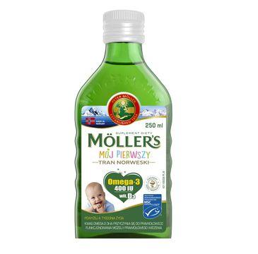 Möller's – Mój Pierwszy Tran Norweski suplement diety dla dzieci (250 ml)