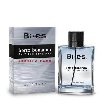 Bi-es Berto Bonanno Fresh&Pure for men woda toaletowa męska 100 ml