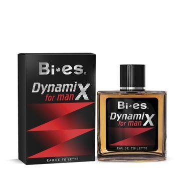 Bi-es Dynamix Czarny woda toaletowa męska 100 ml